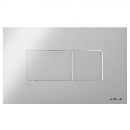 VOLLE ALTO NEO клавиша смыва, хром, пластик - 221515