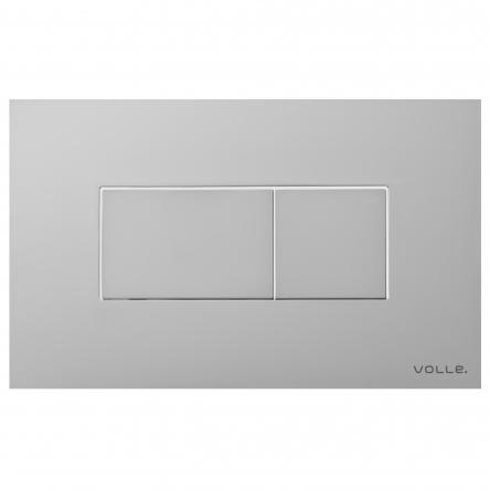 VOLLE ALTO NEO клавиша смыва, матовый хром, пластик - 221414