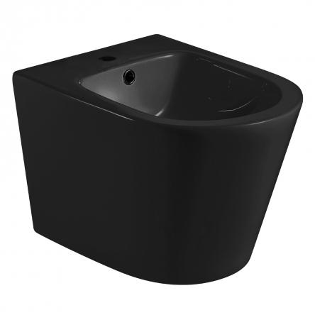 VOLLE NEMO BLACK биде 51,5*36*34,5см подвесное, матовое - 13-17-036 Black