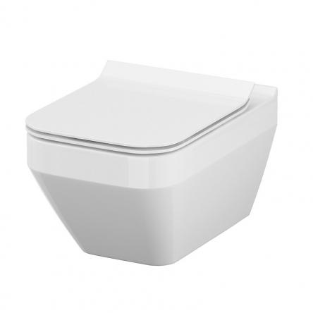 Cersanit Унитаз Crea Clean On прямоугольный (подвесной) K114-016